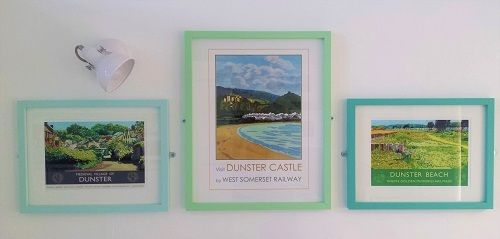 Dunster beach hut, salad days, beach hut, chalet, dunster beach, home made, upcycled, repurposed, eco friendly, environmentally friendly, homemade, buy local, local produce, organic, leo davey, artist, painting, local artist